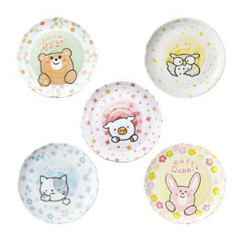 小物家园日本进口动物碟子小(单个)