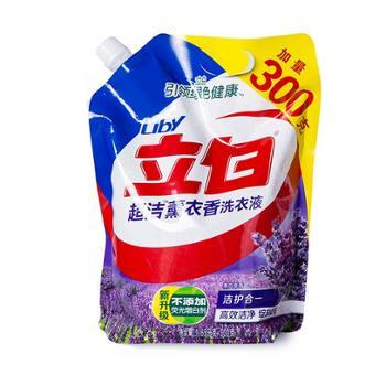 立白超洁熏衣香洗衣液袋装1.65kg加量再送300g LB-005