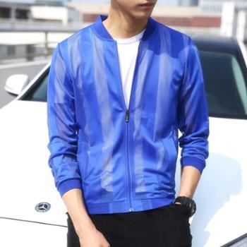 点就防晒衣服男韩版帅气运动休闲皮肤衣P666