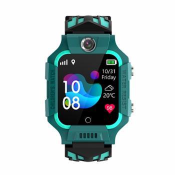 米狗MEEEGOU人脸识别视频通话4G儿童电话手表绿色W16