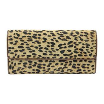 尼诺里拉NINORIVA咖啡色时尚动物纹NINORIVA长款钱夹NR602673