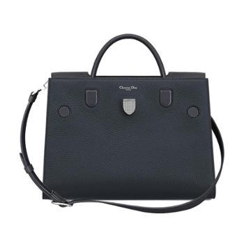迪奥Dior女士深灰色牛皮手提单肩包M7001PTLW989