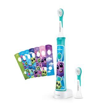 飞利浦/Philips儿童电动牙刷HX6322/29旅行版智能APP蓝牙版(自带刷头*2)