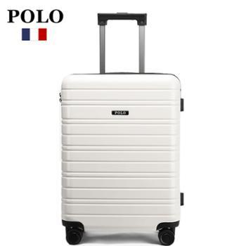POLO20寸城市风多功能万向拉杆箱行李箱