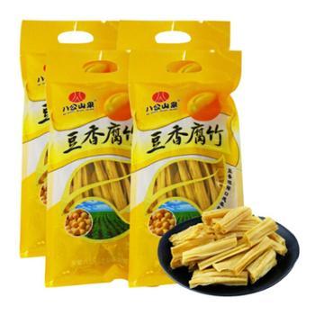 八公山泉 手工黄豆腐竹 258g*4袋