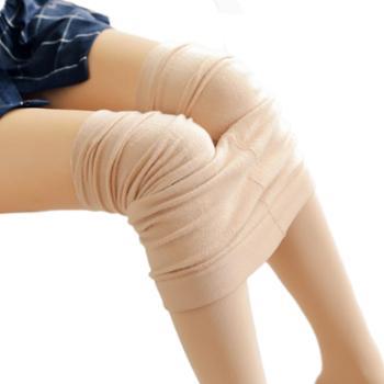SOBO女士打底裤外穿薄款拉毛拉绒保暖连脚一体裤