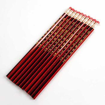中华 6151 HB铅笔 带橡皮头 12支装