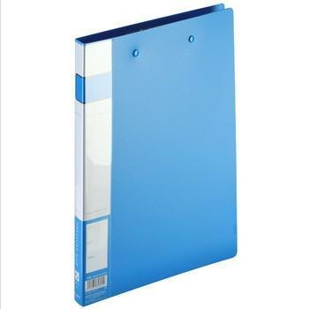 齐心(COMIX)A605轻便型双强力文件夹A4蓝色