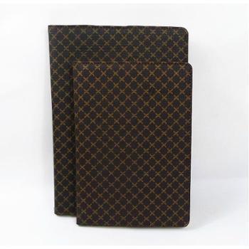 勤必发QBF16-10精装商务笔记薄B5格子皮面本办公日记本记录本每本