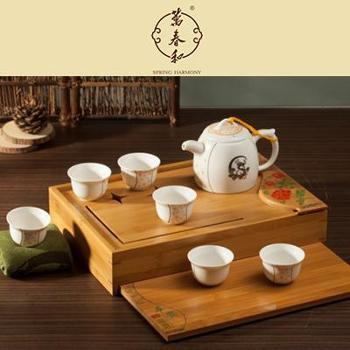 万春和平安富贵茶具