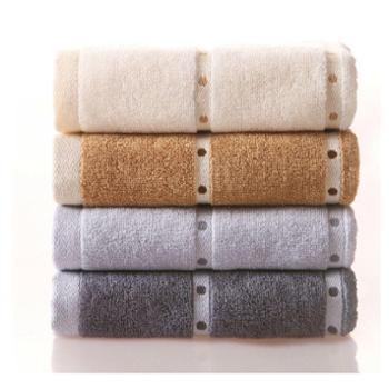 金号全棉毛巾 纯棉毛巾柔软吸水 家用洗脸巾
