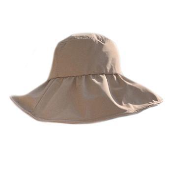 黑胶防晒帽大帽檐女遮阳遮脸防紫外线
