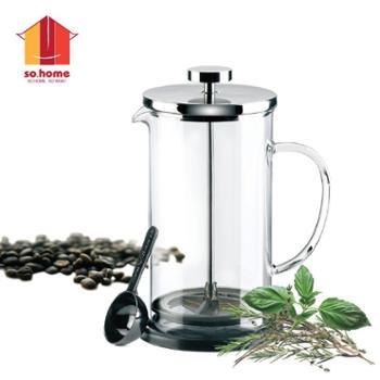 sohome 4杯瑞利咖啡壶法压壶