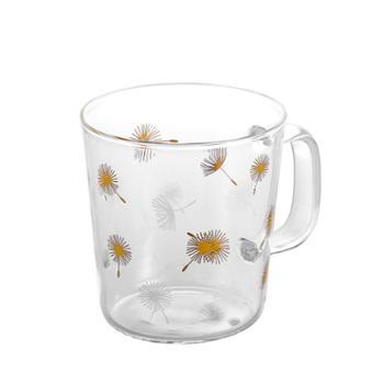 sohome 高硼硅耐热玻璃杯烫金430ML