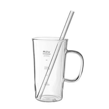 sohome耐热玻璃吸管杯