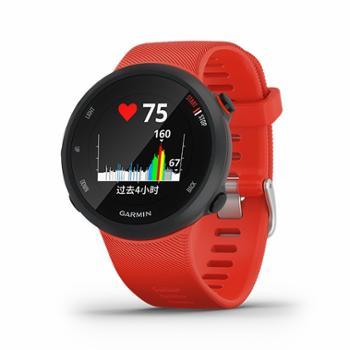 佳明/GARMIN户外运动手表旗舰GPS跑步智能心率腕表Forerunner45