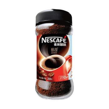 雀巢咖啡醇品速溶200g/瓶