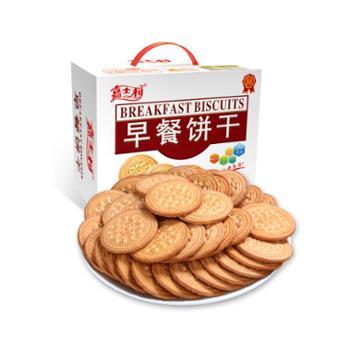 嘉士利原味早餐饼干800g
