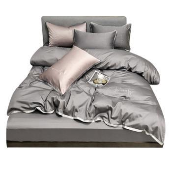 雅迪娜/ADINOR60S长绒棉四件套适用1.5/1.8/2.0米床