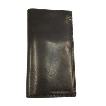 尼诺里拉NINORIVA黑色牛皮革长款钱夹NR60254-2