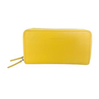 尼诺里拉NINORIVA 黃色 女士时尚雙拉鏈長款錢夾 NR60118-5