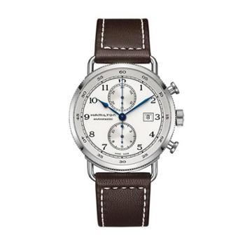 汉米尔顿Hamilton 卡其海军系列机械表瑞士手表布带男表 H77706553