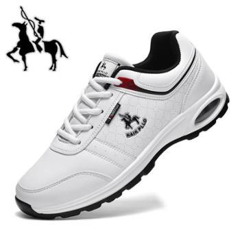 保罗新款休闲潮流运动男鞋增高气垫跑步鞋