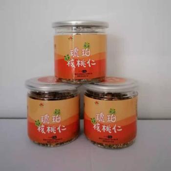 華隴亨業陇南特产琥珀核桃仁135g/1罐