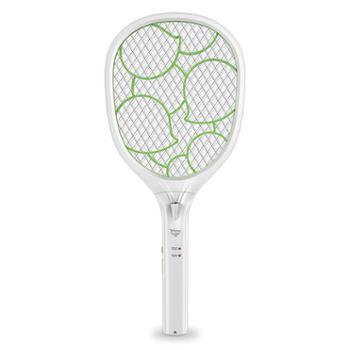 雅格YG-5621电蚊拍充电式安全环保灭蚊拍电苍蝇拍灭蝇拍