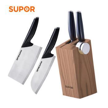 苏泊尔刀具套装不锈钢厨房刀具菜刀套装四件套TK1519Q