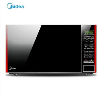 Midea/美的家用智能多功能全自动平板小型加热微波炉EM7KCG4-NR