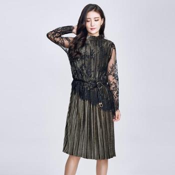 戎立特女士长款连衣裙EW6731-34