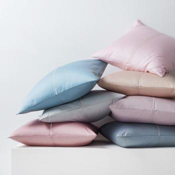 60支长绒棉纯棉欧枕含芯