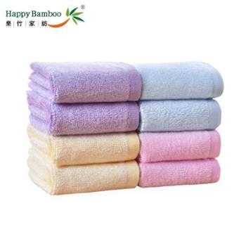 乐竹 方巾餐巾洗脸巾美容巾 9条优惠装