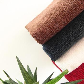 乐竹 快速干发巾 擦车巾 清洁巾 纳米超细纤维毛巾 单条装 34cm*76cm