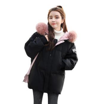 gangsta冬款面包服女学生韩版短款ins冬季外套羽绒棉服宽松bf加厚GJC7795