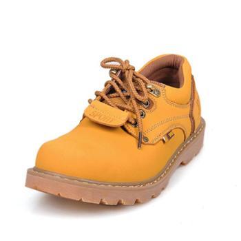 上匠风华 二层牛皮户外工装单鞋5808
