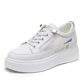 上匠风华 厚底女子文艺清晰范单鞋Y523