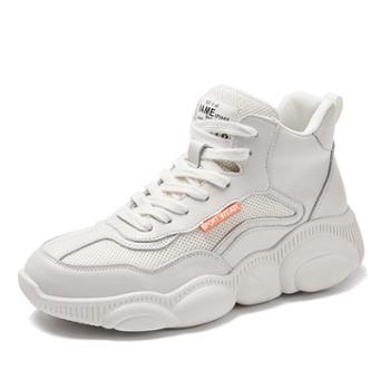 上匠风华 女士休闲运动鞋小熊鞋1225-1