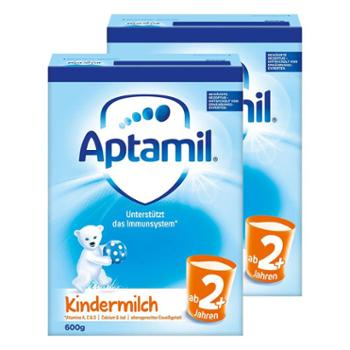 Aptamil【2件装】德国爱他美婴幼儿奶粉2+段800克/罐