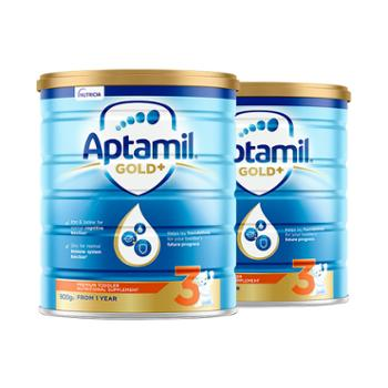 Aptamil 澳洲爱他美婴幼儿奶粉金装3段 900g 【2件装】