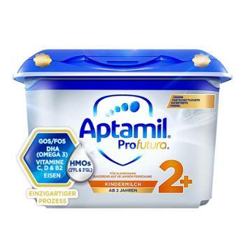Aptamil德国爱他美白金版婴幼儿奶粉2+段(适合2岁以上)800克/盒
