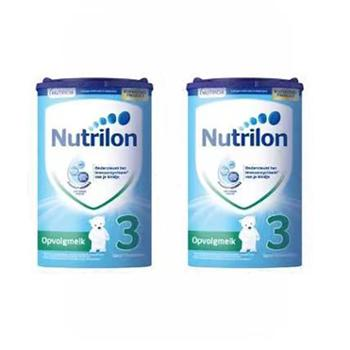【2件装】荷兰牛栏Nutrilon原装进口婴幼儿配方奶粉3段(适合10个月以上)800克/罐