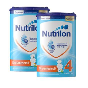 【2件装】荷兰牛栏原装进口婴幼儿配方奶粉4段(适合1-2岁)800克/罐