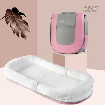 为生婴儿床便携式床中床新生儿宝宝小床bb多功能仿生床可折叠防压