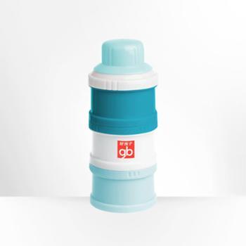 gb好孩子三层奶粉罐便携外出防潮密封罐奶粉盒大容量奶粉格分盒子