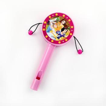 迪士尼儿童小沙锤 婴儿新生儿沙铃宝宝摇铃沙球乐器0-1岁早教玩具