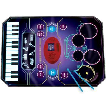 幼儿童早教爵士架子鼓电子琴音乐毯女男孩乐器宝宝玩具礼物初学者