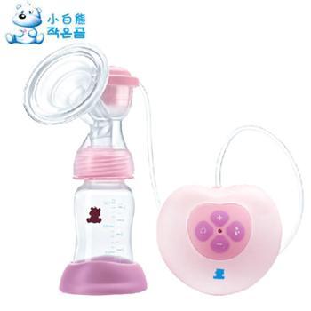 小白熊吸奶器电动吸奶器孕妇按摩挤奶器产妇自动吸乳器0882