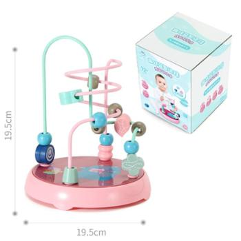酷琪瑞儿童串珠绕珠玩具 宝宝穿线0-1-2周岁益智力开发男孩早教启蒙女